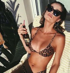 Sexy bikinis fit for your Summer vacation needs! If you want to know what sexy bikinis you need to be wearing this year, you need to check out these Leopard Bikini, The Bikini, Daily Bikini, Bikini Bod, Bikini Beach, Bikini Babes, Bikini Swimwear, Bikini Photos, Beach Babe