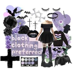 """""""Pastel Goth - like me"""" by kim-hulscher on Polyvore"""