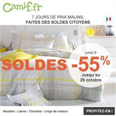 Soldes Camif, promo soldes meubles pas cher Camif - bonnes affaires meubles et déco avec les les offres soldées 100% Maison Camif.fr et bénéficiez jusqu'à -55% de réduction !