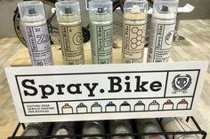 Spray.Bike - Mal din egen cykel som en professionel Baking Ingredients, Cookie Dough, Bike, Mugs, Tableware, Bicycle, Dinnerware, Tumblers, Tablewares