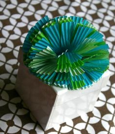Kids Cupcake Liner Gift Toppers for Kids Party Crafts