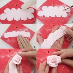 Set DIY Rose Flower Cake Mold Cookie Cutter Fondant Cake Decorating Tools Sugarcraft Cutter Cake Baking Kitchen Tool is part of Fondant decorations - A Fondant Rose, Bolo Fondant, Fondant Icing, Fondant Flowers, Diy Flowers, Fondant Baby, Fondant Cakes, Icing Cupcakes, Cupcake Fondant