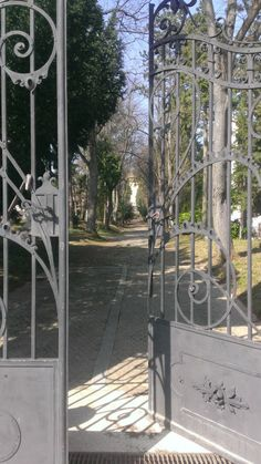Entrance to an 18th century park in #Zagreb