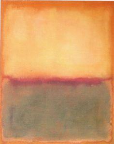 Mark Rothko Light over Deep 1956