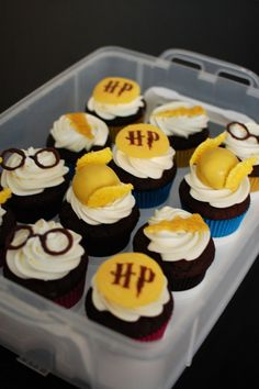 More Harry Potter Cupcakes (Including Golden Snitch Cupcakes) | Beantown Baker