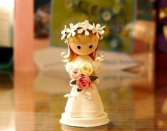 wonderful 3D paper quilling dolls
