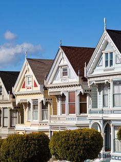 """One of Detour's walks takes users """"Beyond the Painted Ladies"""" of San Francisco."""
