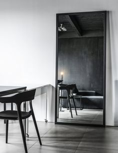 Scandinavian Living, Interior Decorating, Interior Design, Living Magazine, Spacious Living Room, Old Doors, Ceiling Beams, Wooden Walls, Minimalist Home