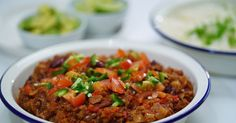 This simple & tasty chilli con carne dish makes for great leftovers the next day.