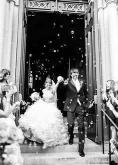 8 Amazing Wedding Exits
