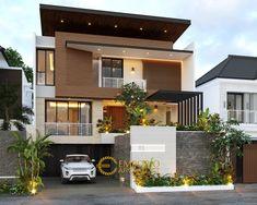 Indian House Exterior Design, Modern Exterior House Designs, Modern Architecture House, Interior Exterior, Modern Small House Design, Bungalow House Design, House Outside Design, House Front Design, Style Villa