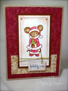... Simply Stamping ...: Lucy's Christmas