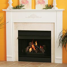 Cortland - Traditional Wood - Fireplace Mantel Surrounds - MantelsDirect.com