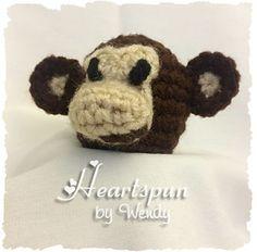 Monkey EOS Lip Balm Holder - $2.99 by Wendy Connor