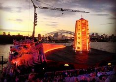 Outdoor opera is phenomenal! Amazing night at Turandot for opening night the singing the dancing the atmosphere I love opera on the harbour! @operaaustralia #operaaustralia #operaharbour #sydneyharbourbridge #sydneyoperahouse #opera #Australia #sydney #turandot #dragon #China #love #sunset by smiley_lize http://ift.tt/1NRMbNv