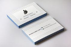 business cards by Michelle Dadoun #business #cards #visitekaartjes