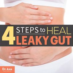 Simple, clear explanation of what a leaky gut is and how to heal it