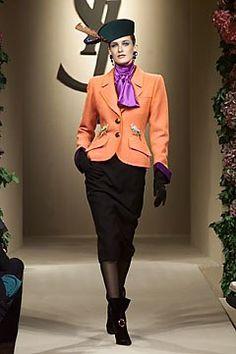 Saint Laurent Fall 2001 Couture Collection Photos - Vogue