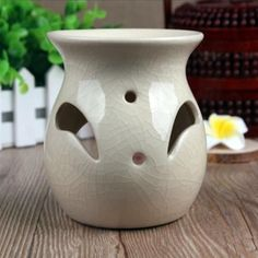 MINI Ceramic Jars Essential Oil Burner Fragrance Containers