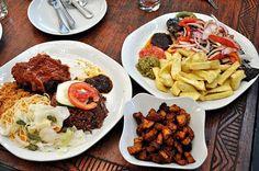 12 breakfasts to get out of bed for: Ghana – Waakye, Kelewele and Fried Yaw. Photo: Mac-Jordan Degadjor