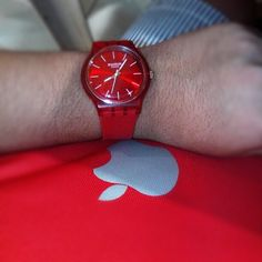 2 of my favorite brands! #Swatch