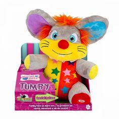 Jucarie din plus interactiva Noriel Pets - Tumby, soricelul de la circ | Noriel Tweety, Teddy Bear, Character, Note, Teddy Bears, Lettering, Teddybear