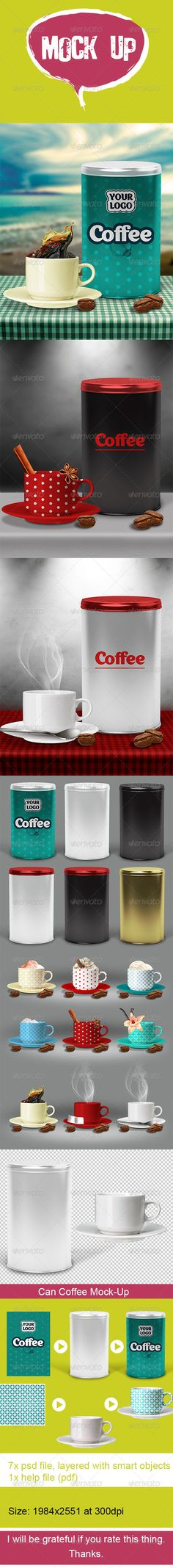Can Coffee Mock Up