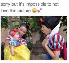 The little girl looks so surprised!