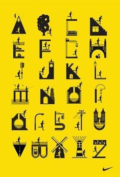 Nike Running Club Alphabet - I Love Dust