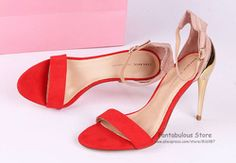mobile site-Free Shipping 2013 New Arrival Sexy Summer High Heel Sandals Strappy Designer Sequins Red Shoes for Women php2800