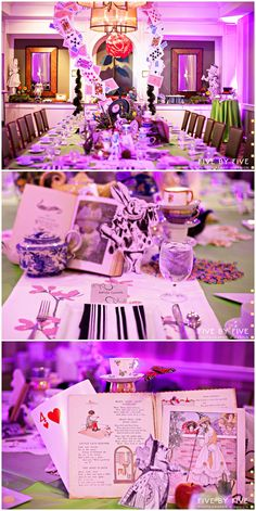 Five by Five: ALICE IN WONDERLAND THEMED BRIDAL SHOWER