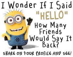 Minion hello :)