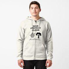 'Jazmin Bean' T-Shirt by Canteer Balos Beach, Diani Beach, France Sport, Black Zip Hoodie, Chiffon Tops, Hooded Jacket, Classic T Shirts, Sweatshirts, Comfy Hoodies