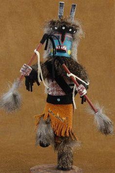 Navajo Deer Kachina Doll $66.00 #alltribes