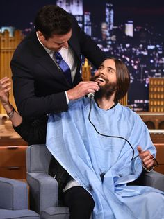 Jared Leto & Jimmy Fallon from The Big Picture: Today's Hot Pics | E! Online