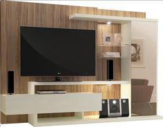 Como organizar o Home Theater na sala Home Theater, Tv Wall Panel, Master Bedroom Interior, Home Tv, Drawing Room, Led, Living Room, Interior Design, House
