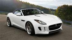 Jaguar F-Type artist's impression.