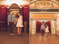 Jann & Manny's Disneyland Engagement Photos http://blog.matthewencina.com/.