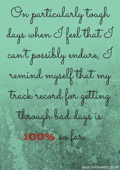 Keeping track....