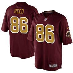 Jordan Reed Washington Redskins Nike Youth Alternate Game Jersey – Burgundy - $74.99