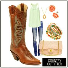 Country Outfitter # Country Life # Cowboy Boots # Country Clothes # Summer