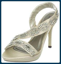 Paco Mena Sempervivum 04948, Damen Sandalen/Fashion-Sandalen, Beige (Stone 87), EU 40 - Sandalen für frauen (*Partner-Link)