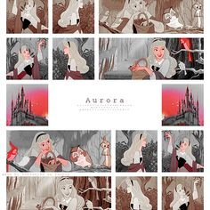 Aurora my favorite plus Mulan and Belle coming in second