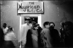 Founded circa 1973, The Nuyorican Poets Cafe has grown from a living room salon in the East Village apartment of writer and poet, Miguel Algarin to its present location jammed with overflow audiences.