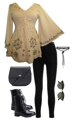 """""""Untitled #3461"""" by meandelstyle ❤ liked on Polyvore featuring Balmain, Kate Spade and Ray-Ban"""