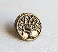 golden tree of life tie tack, mens gift, mens jewelry, groomsmen gift, wedding jewelry, father of the bride, anniversary gift, lapel pin Gift Wedding, Wedding Jewelry, Golden Tree, Father Of The Bride, Groomsman Gifts, Tree Of Life, Tack, Groomsmen, Anniversary Gifts
