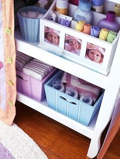 Everything at your fingertips requires organization let us help...we have a lot of ideas to help with baby.