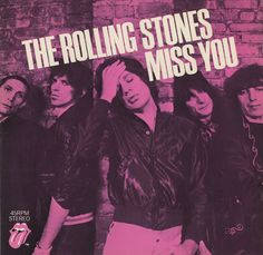 "For Sale - Rolling Stones Miss You UK  7"" vinyl single (7 inch record) - See this and 250,000 other rare & vintage vinyl records, singles, LPs & CDs at http://eil.com"
