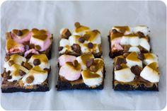 Nutella & Peanut Butter S'moreos via Cupcake Crazy Gem!