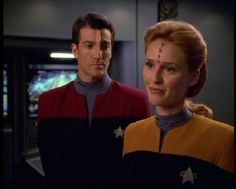 Icheb and Naomi - Star Trek Voyager